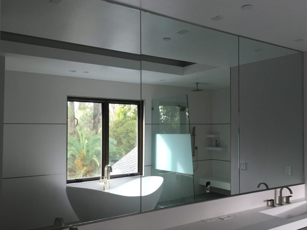 Custom Shower and Mirror
